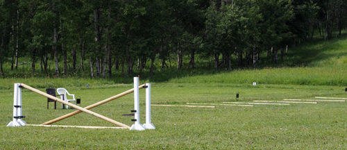 Horseman's Park grass Jumping arena 200x300 and Dressage arena 180x60